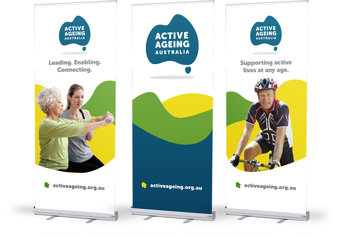 Active Ageing Australia Banners
