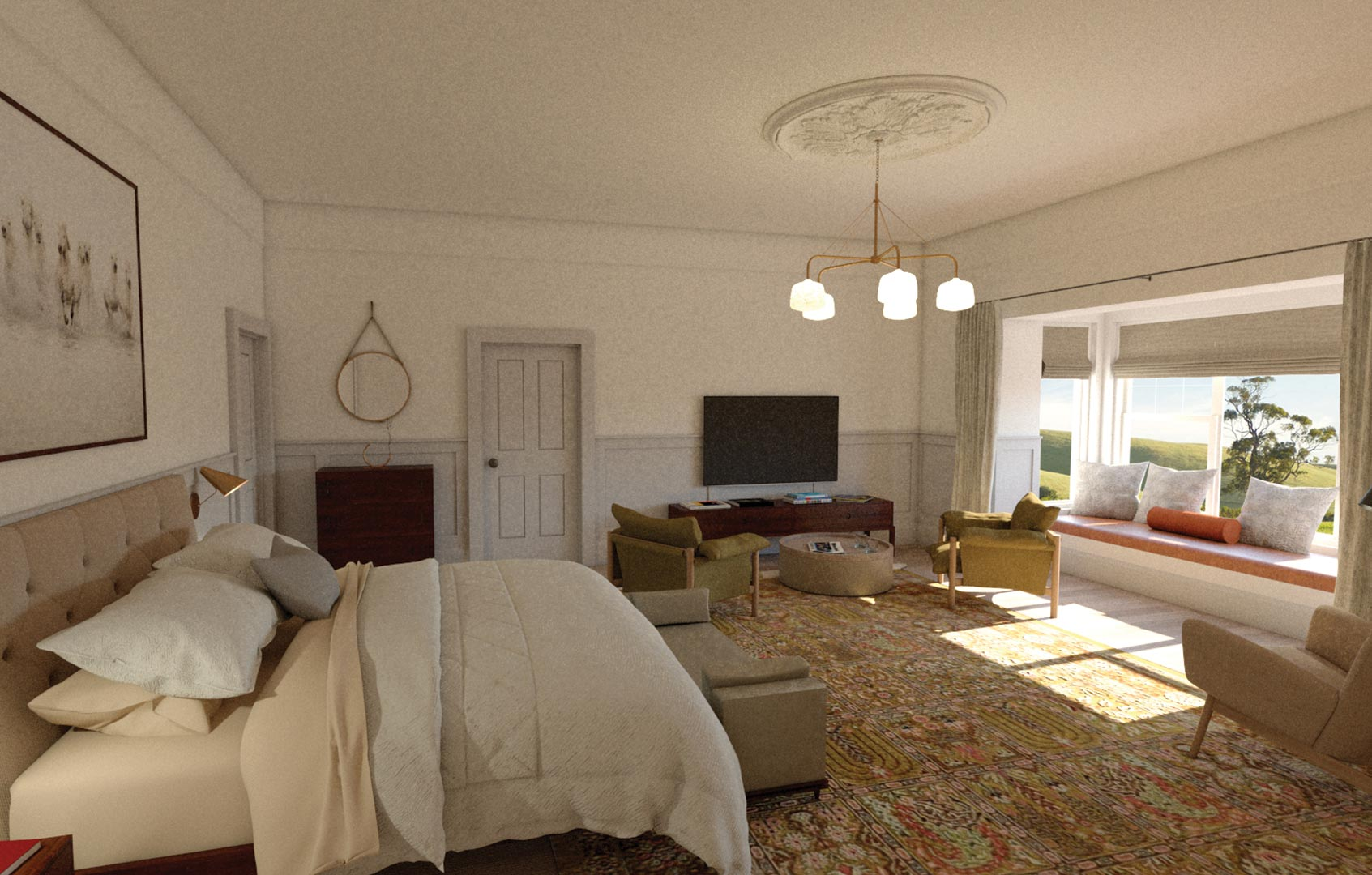 3D Architectural Visualisation Adelaide Bedroom