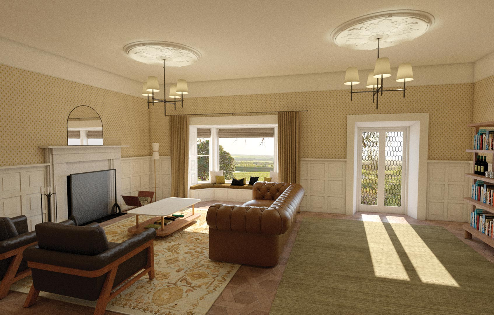 3D Architectural Visualisation Adelaide Living