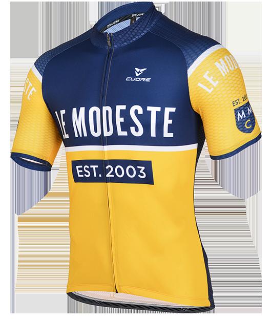 Modest Miler's Club Cycling Kit Design