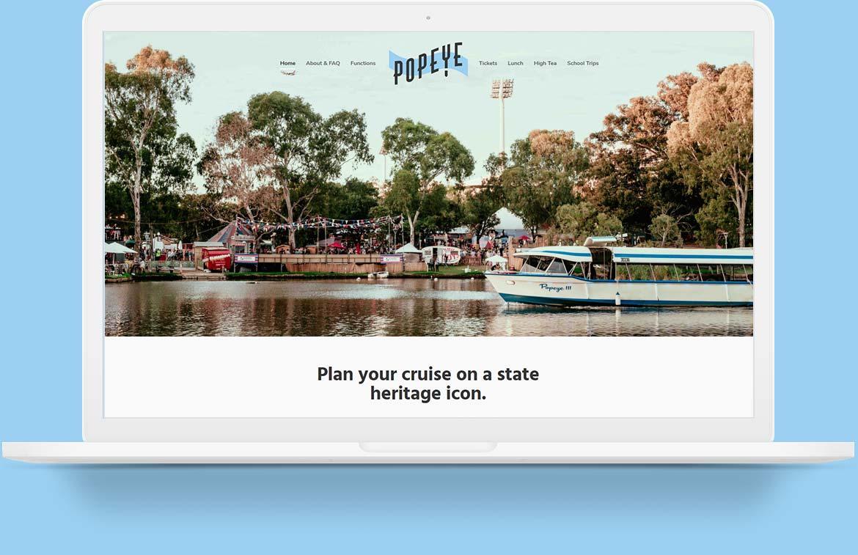 Popeye Website