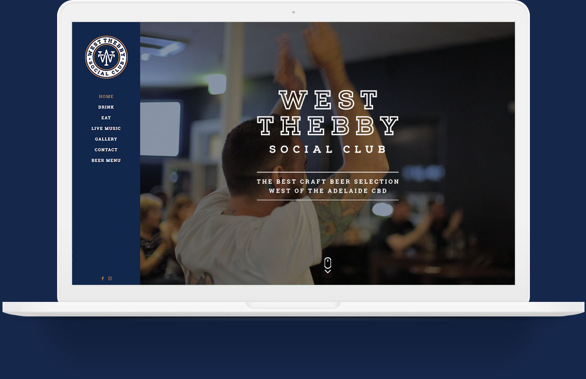 West Thebby Social Club Website