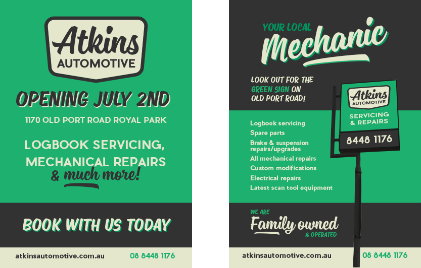 Atkins Automotive Flyers