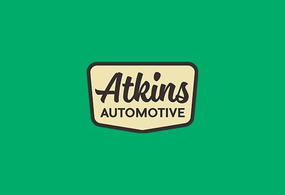 Atkins Automotive Branding