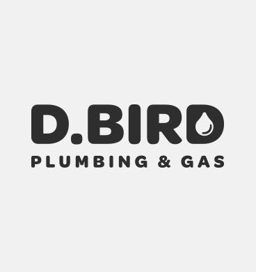 D. Bird Plumbing & Gas Logo