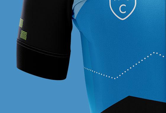 WSC Cycling Kit Close Up