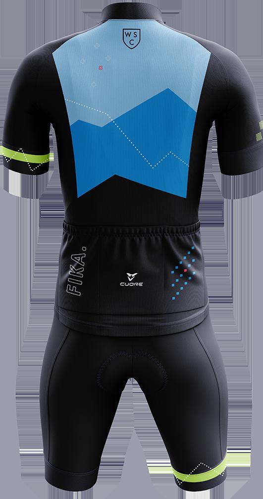 WSC Cycling Kit Back