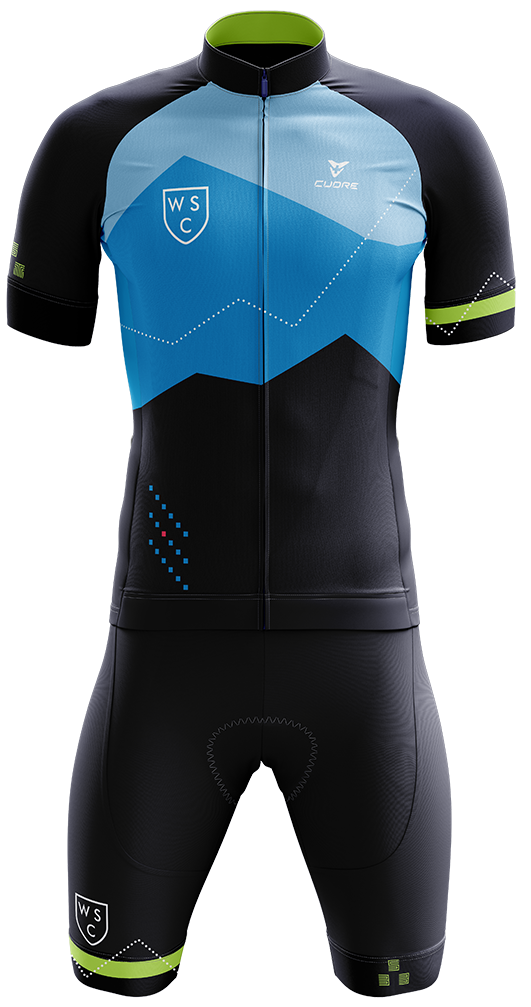 WSC Cycling Kit Front