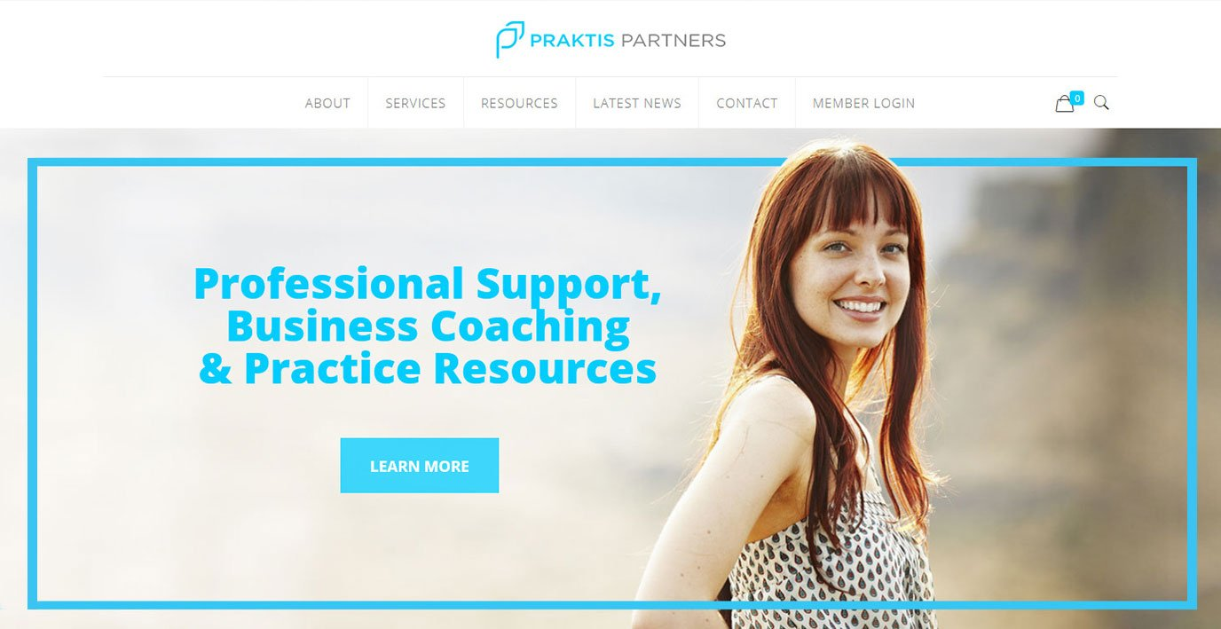 Praktis Partners Website