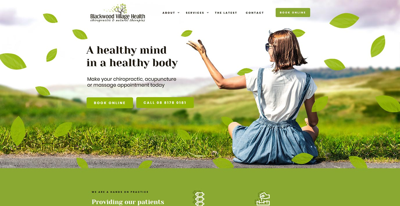 Blackwood Village Health Website