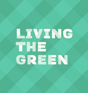 Living The Green Logo
